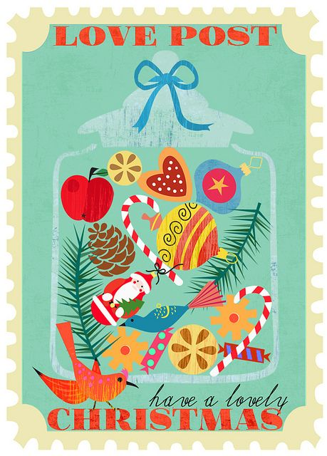 love post jar-new Christmas card design by Sevenstar aka Elisandra, via Flickr