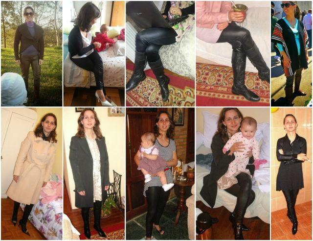 FEMINA - Modéstia e elegância: Trend: leather leggings