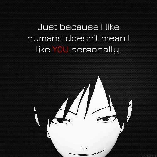 """Manga Anime Just Because: """"Just Because I Like Humans Doesn't Mean I Like You"""