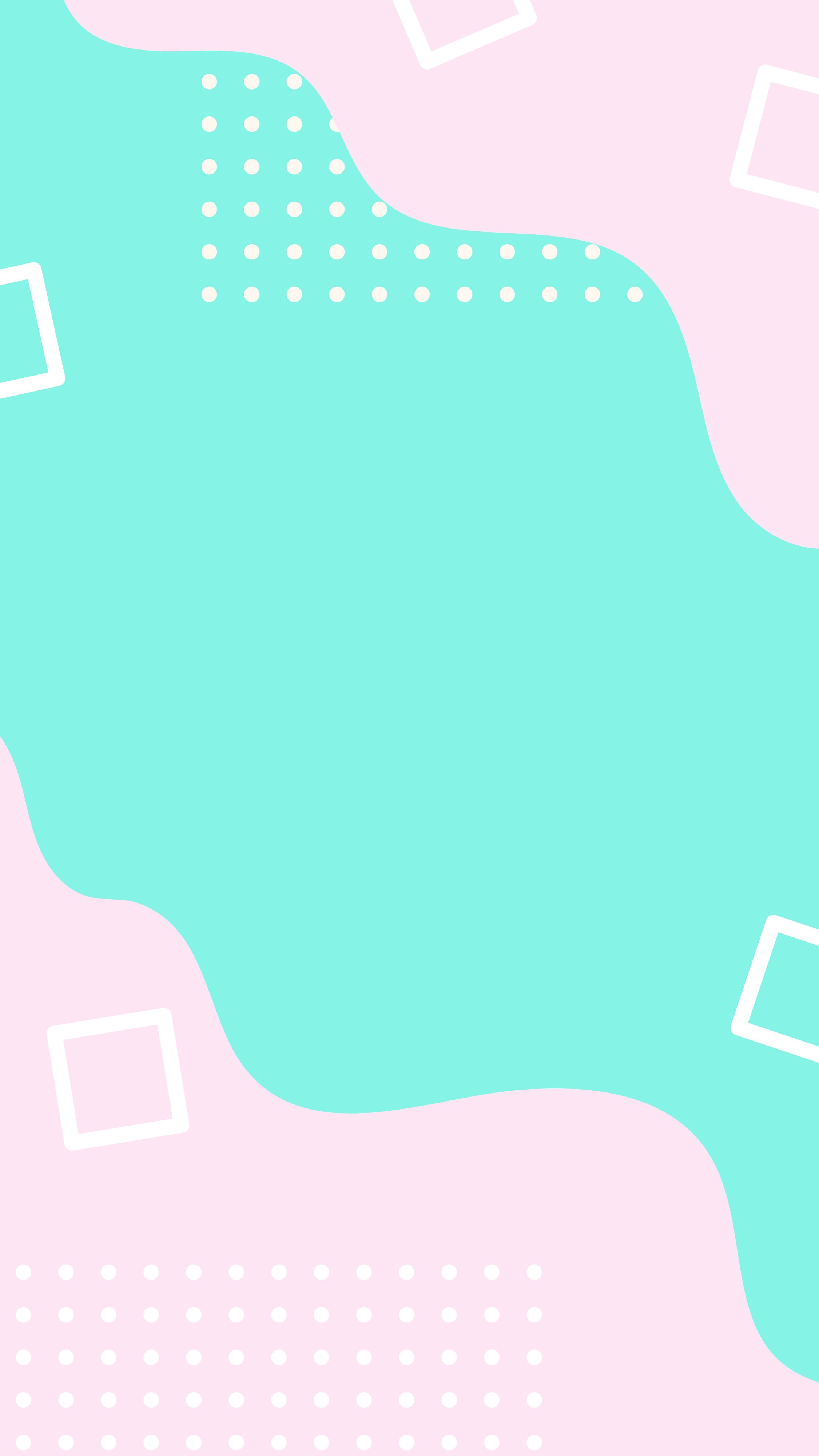 Pastel abstract background for instagram story or iphone