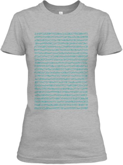 Pi to 1000 digits   Teespring