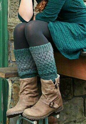 X Ravelry Slouchy Ankle Warmers Pattern By Andrea Mchugh Dramatic