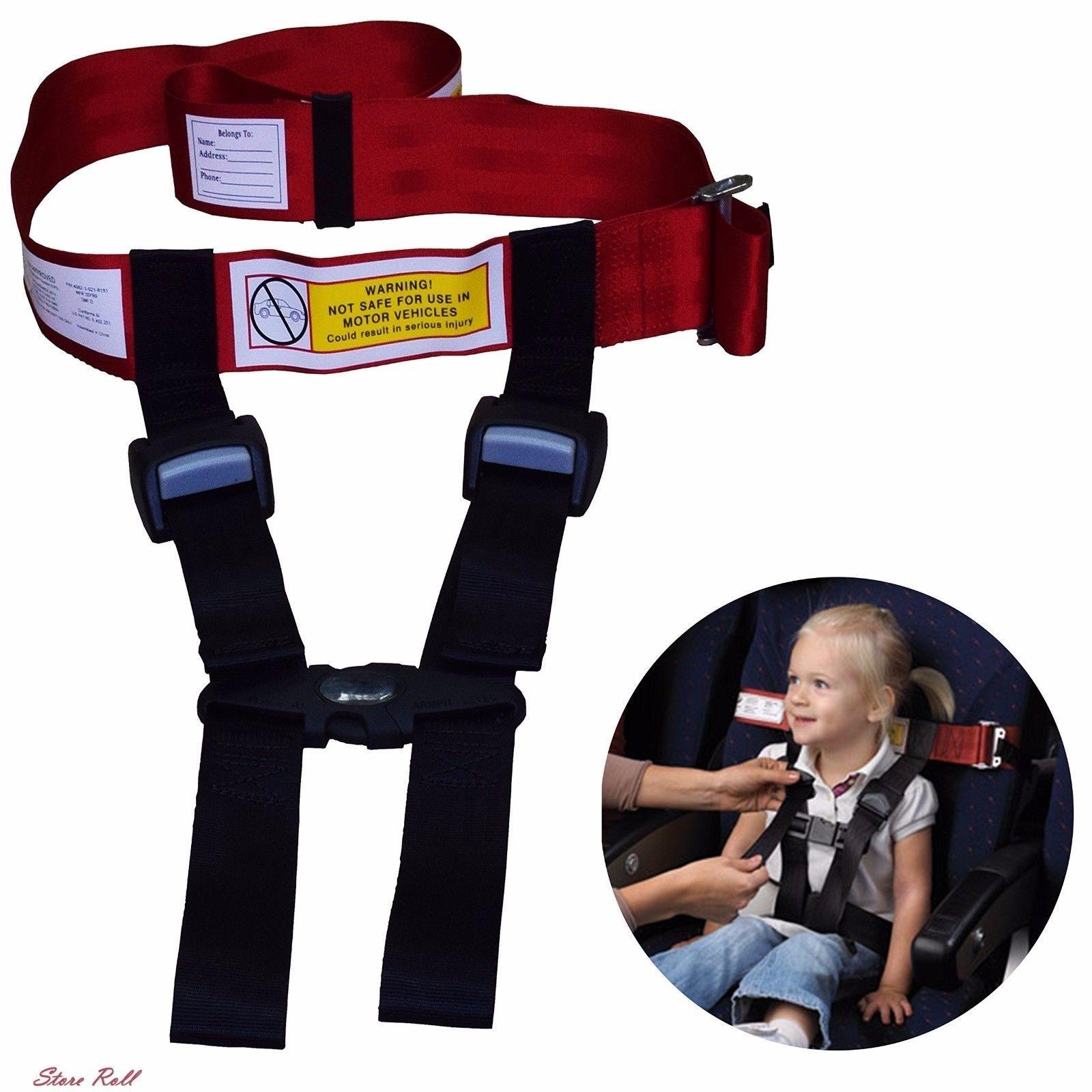 Airplane Seatbelt Harness Safety Child Kids Fly Travel