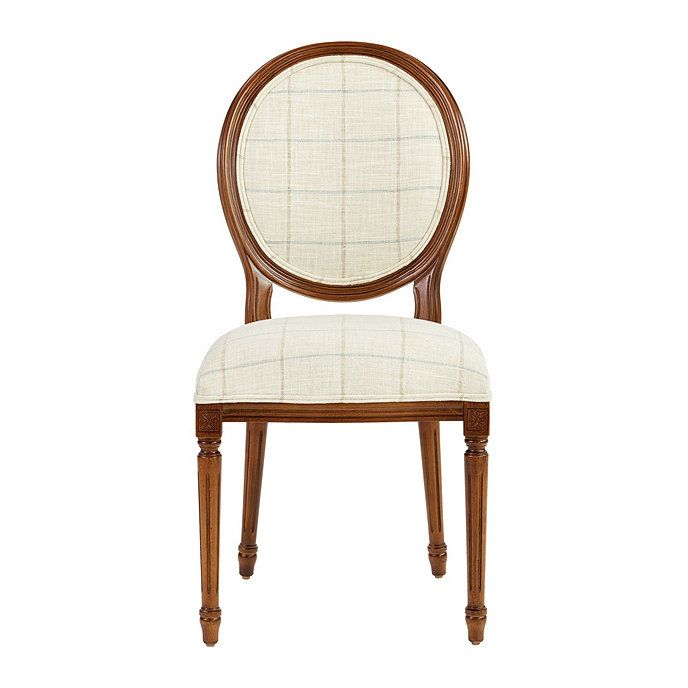 Oval Back Louis Xvi Side Chair In 2019 Dining Room Chair