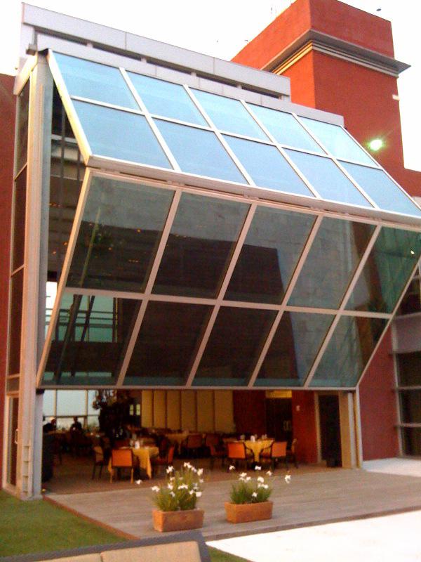For The Garage Even Schweiss Glass Power Operated Lift Strap Bifold Door Glass Garage Door Restaurant Door Door Design