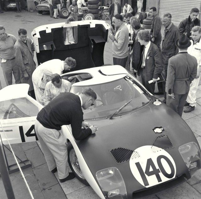 Nurburgring Germany May 30 1964 The Factory Entered No 140