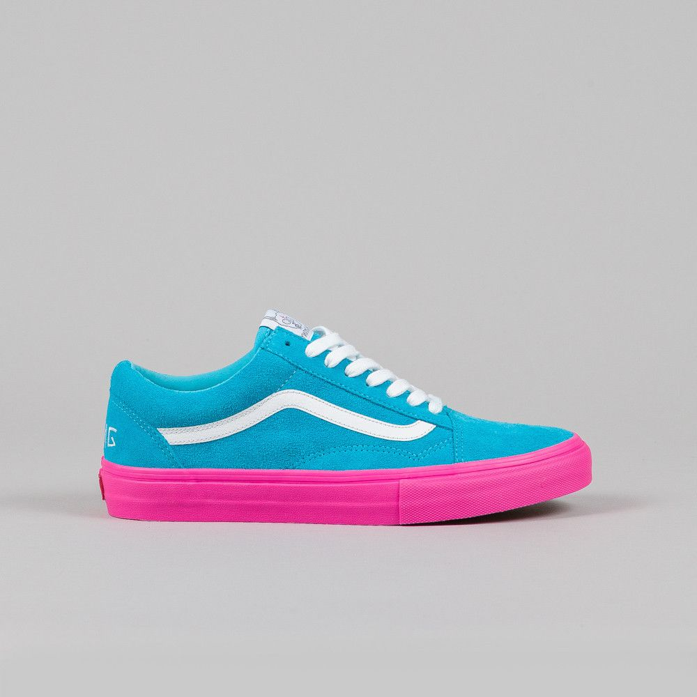 Shoes Vans pink and blue