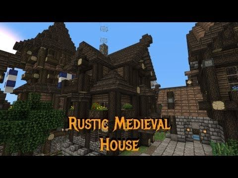 Rustic House Design Minecraft Home Design And Style