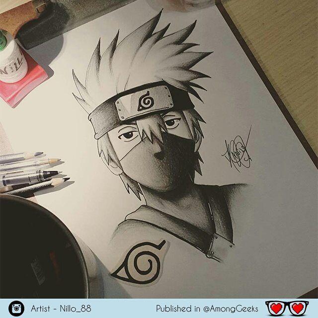 Hatake Kakashi Kakashi Hatakekakashi Naruto