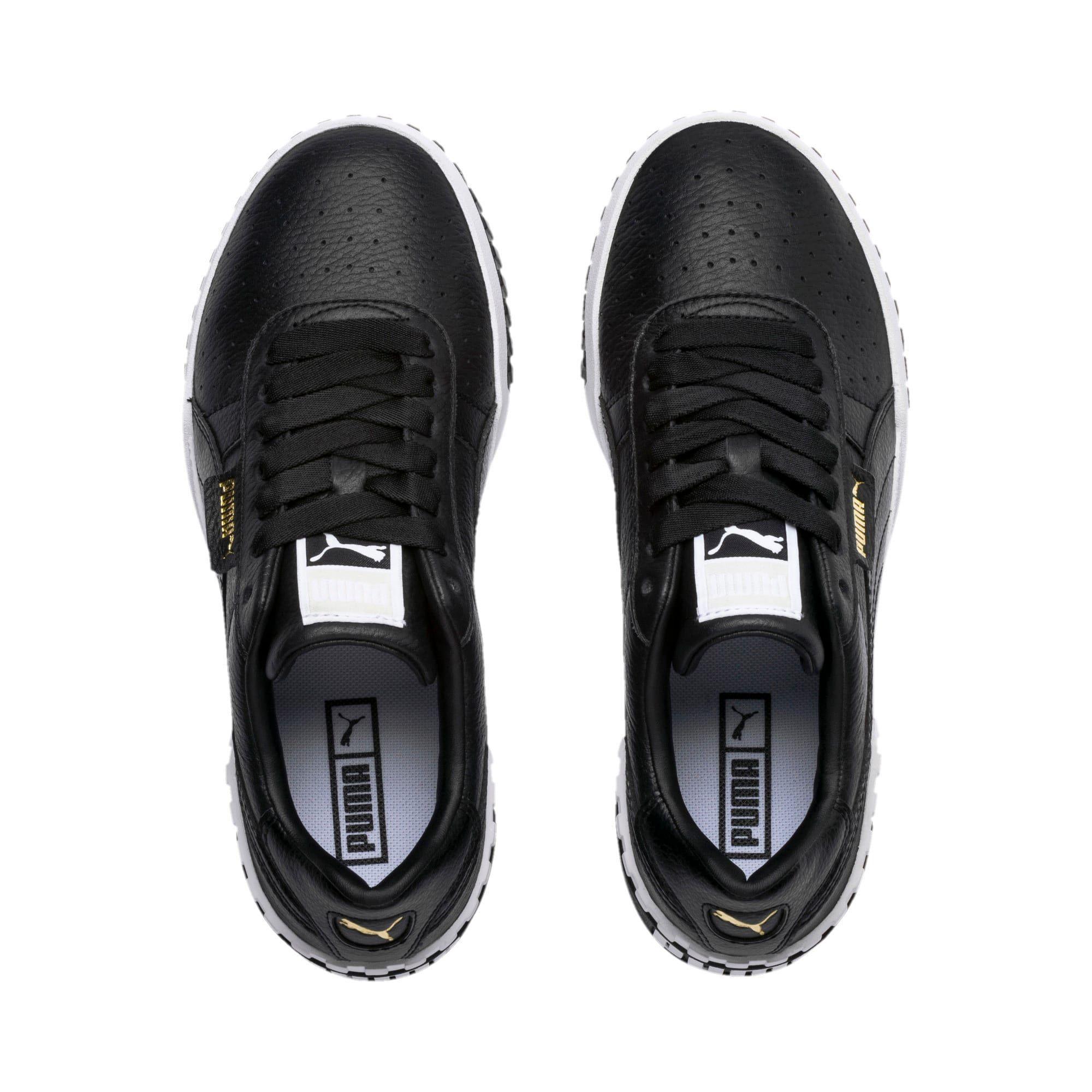 Puma Cali Women S Trainers In Black White Size 6 5 Puma Cali Sneakers Black Puma