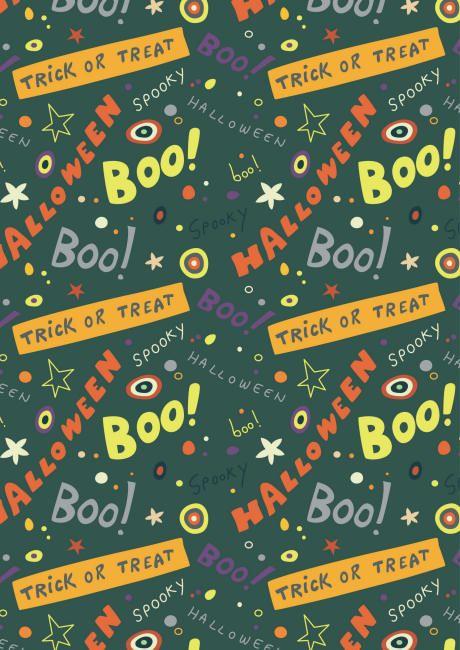 Halloweenscrapbookpaperboo4600g Scrapbook Digital