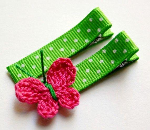 Butterfly Clip @Marianne Tone Silveira Correa Carmen Garcia Carreras