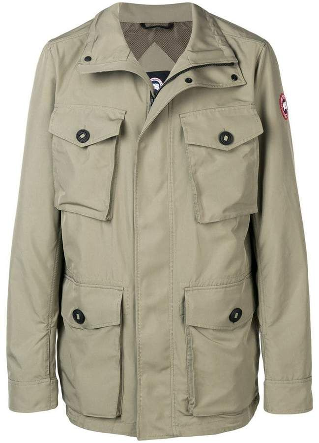 906451334d635 Canada Goose spread collar coat | Products in 2019 | Green coat ...