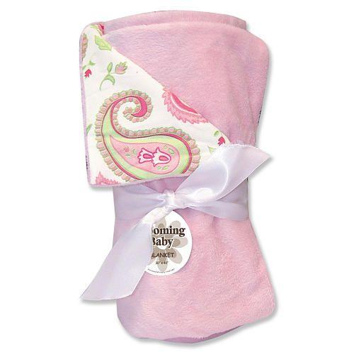 Trend Lab Paisley Park Receiving Blanket Pink Trend