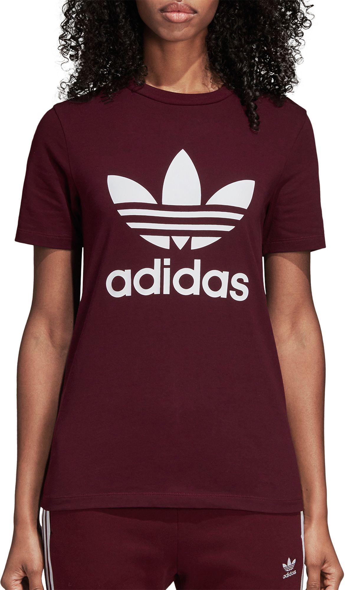adidas Originals Women s Trefoil T-Shirt  a6fefe4b791