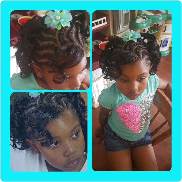 Birthday Hair Hair Styles Braids For Kids Kids Hairstyles