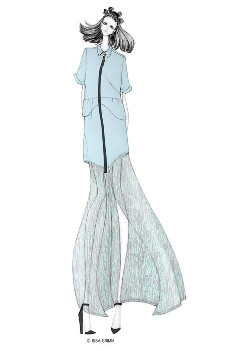 ISSA GRIMM: fashion illustration issagrimm.com fashion design fashion illustrations #fashiondesign #fashionillustrations