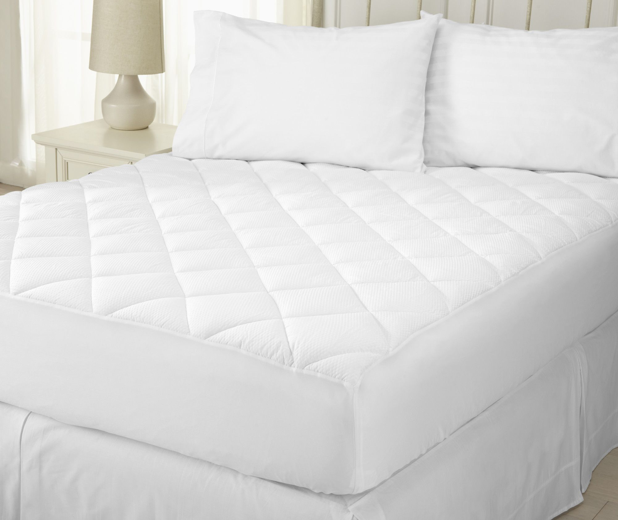 merida ultra loft seersucker embossed mattress pad products