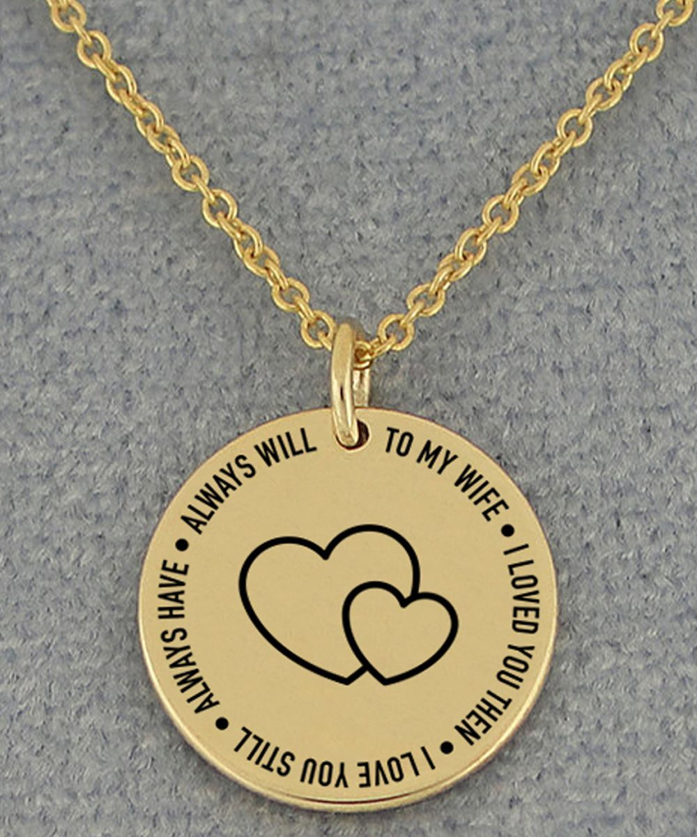 To My Wifebest Romantic Gifts For Wife Your Wife Will Love It Romantic Gifts For Wife Gifts For Wife Wife Necklace