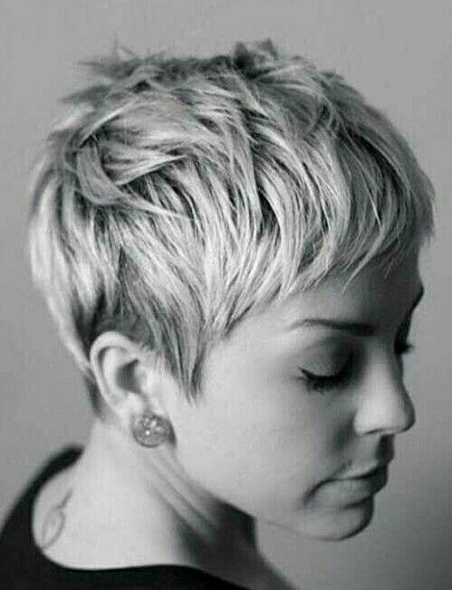 epingle sur pixie hair