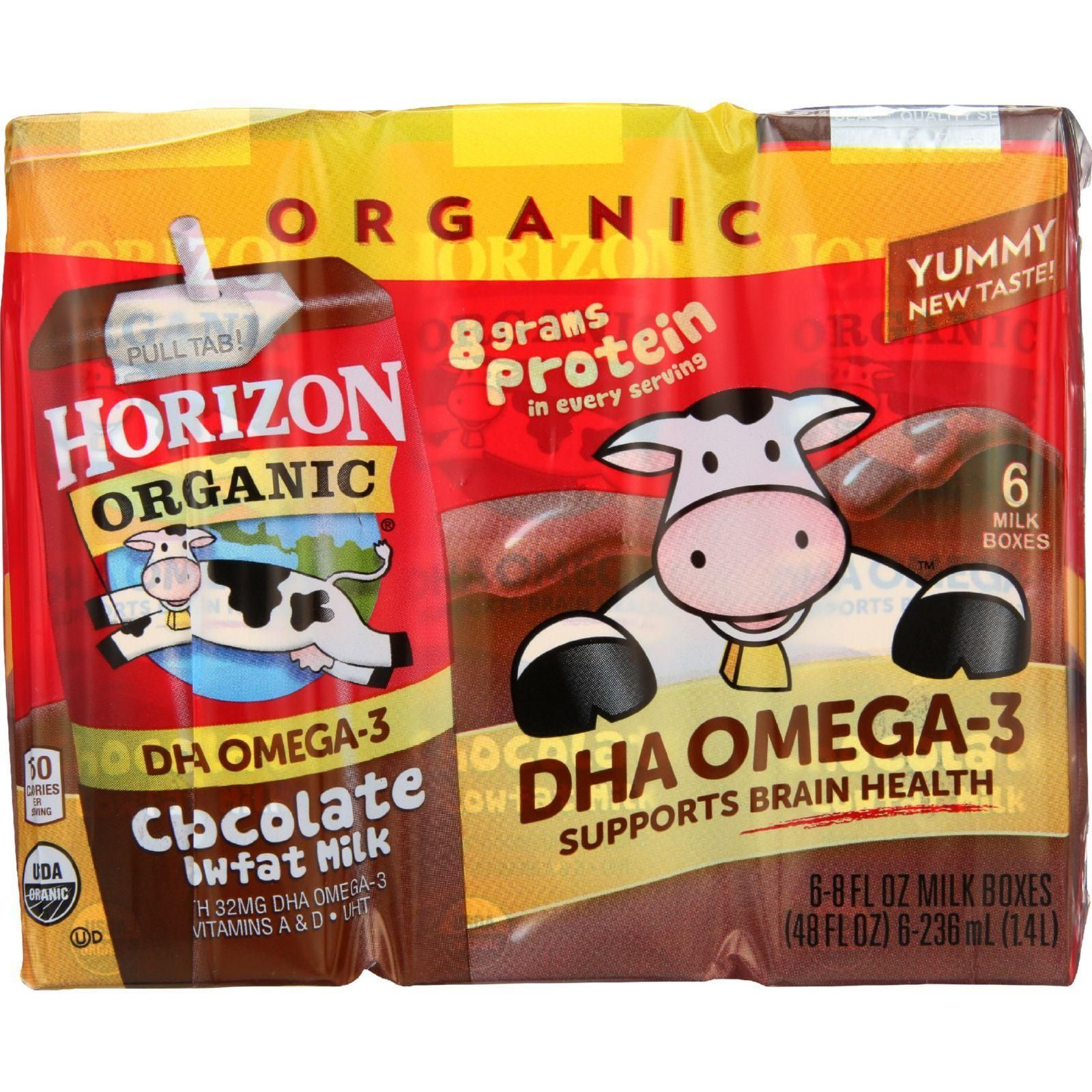 Horizon organic dairy milk organic 1 percent lowfat