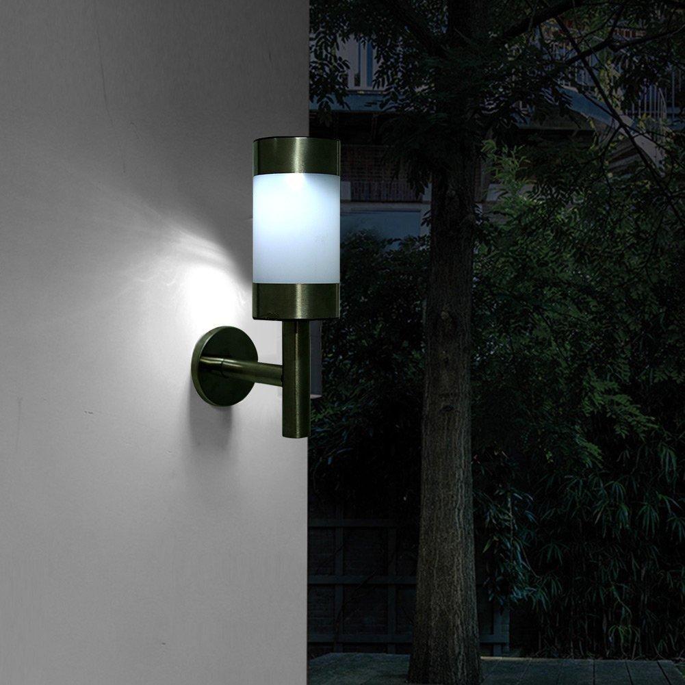 Appliques Solaires Modernes De Balisage Exterieur Trendszy Eclairage Solaire Lampes Solaires Solaire