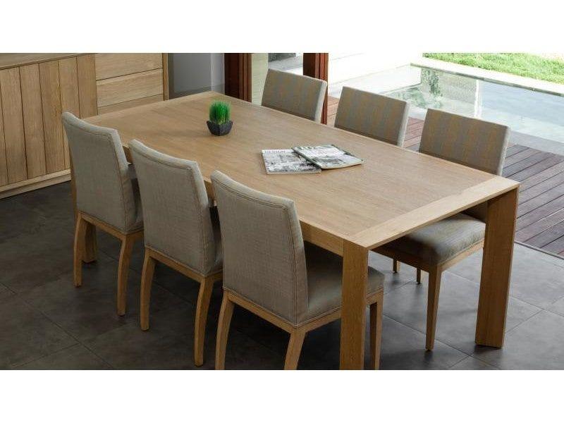 Kubico Table 200 Table En Chene Massif Vente De Delorm
