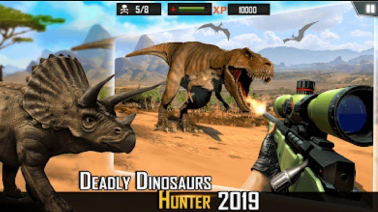 Dinosaur Hunting Deadly Dino Safari Hunter Game is a