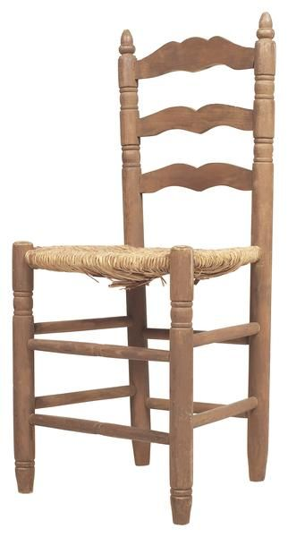 How to Recane Ladder Back Chairs  sc 1 st  Pinterest & How to Recane Antique Ladder Back Chairs | Decor Farmhouse Remodel ...