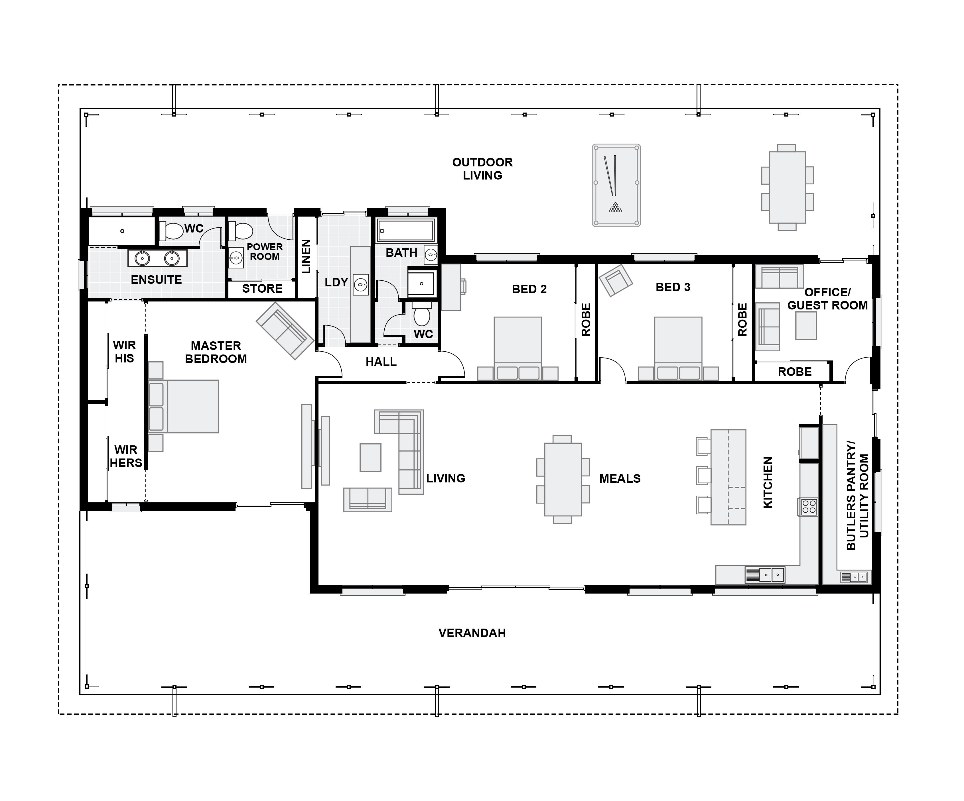 House Plan Well Suited 11 Home Plans And Prices Qld House Plans Queenslander House Plans With Photos Queenslander House House Plans