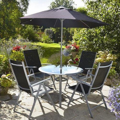 Found It At Wayfair Co Uk 4 Seater Dining Set Garden Dining Set Garden Furniture Chairs Garden Patio Furniture