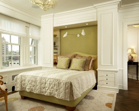 Built Ins Around Bed Design Brady Love the idea, not sure if I\'ll ...