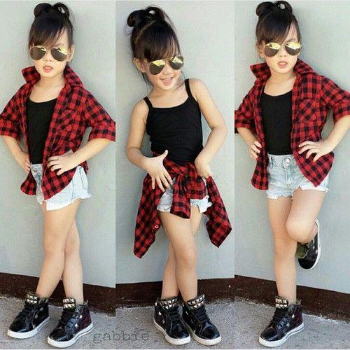 23 Nias con un outfit ms adulto que el mo Pinterest Moda para