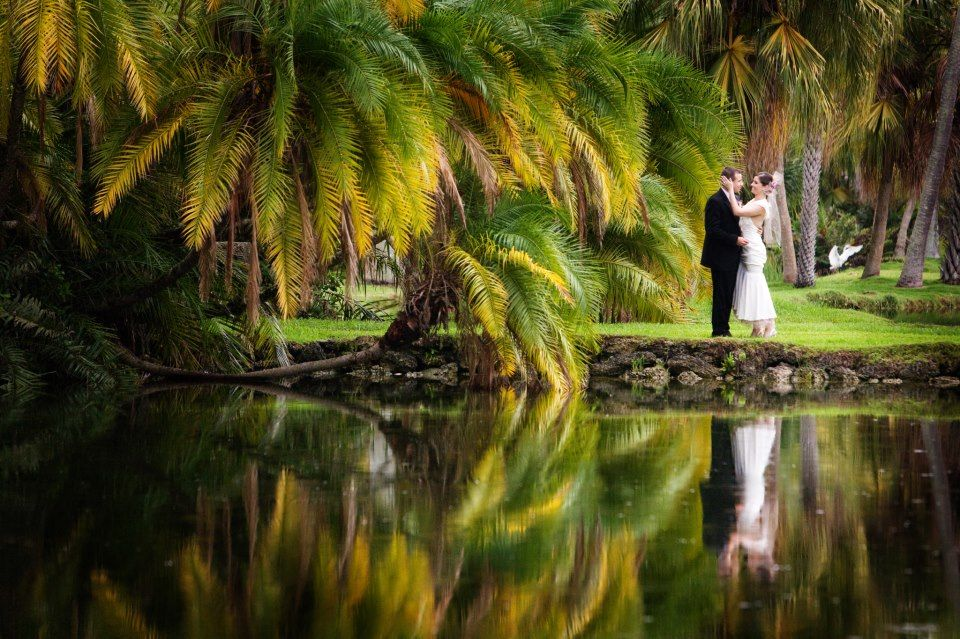 Wedding at Fairchild Tropical Gardens