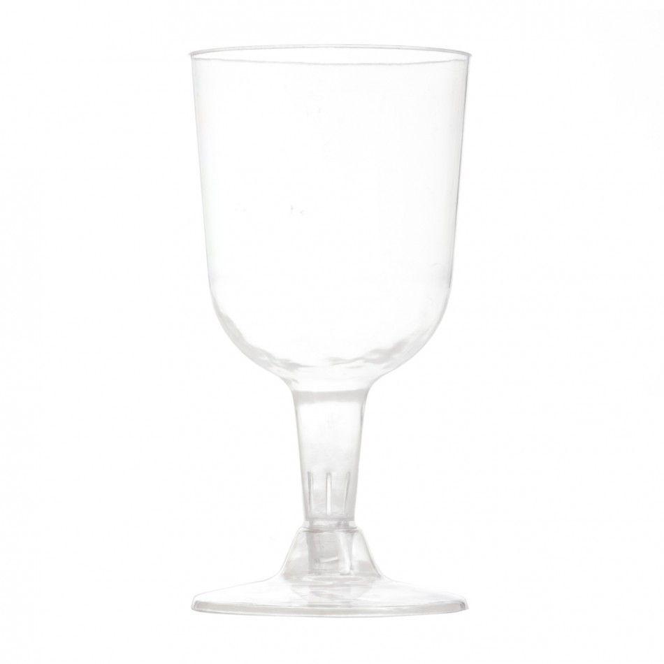 Bulk Plastic Wine Glasses - Small (72 Wine Glasses) [183005 Bulk ...