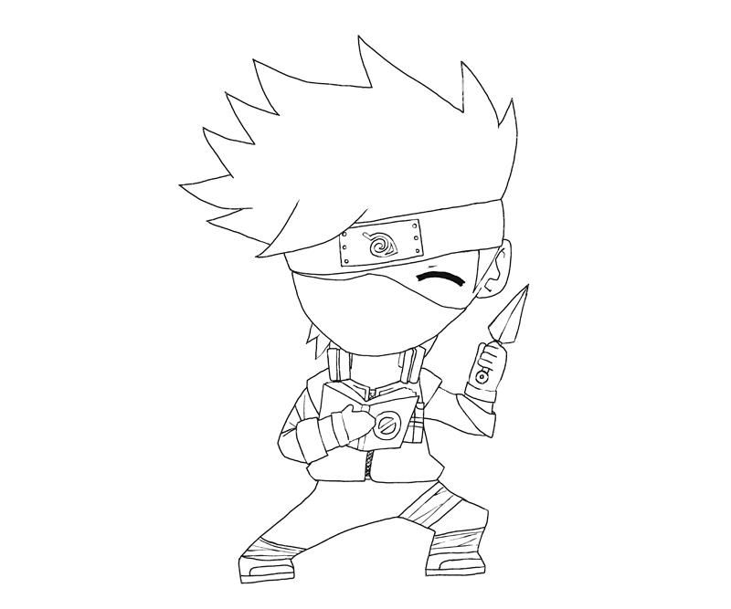 Kakashi 4 Colouring Pages Page 2 Coloring Pages Printable Coloring Pages Colouring Pages