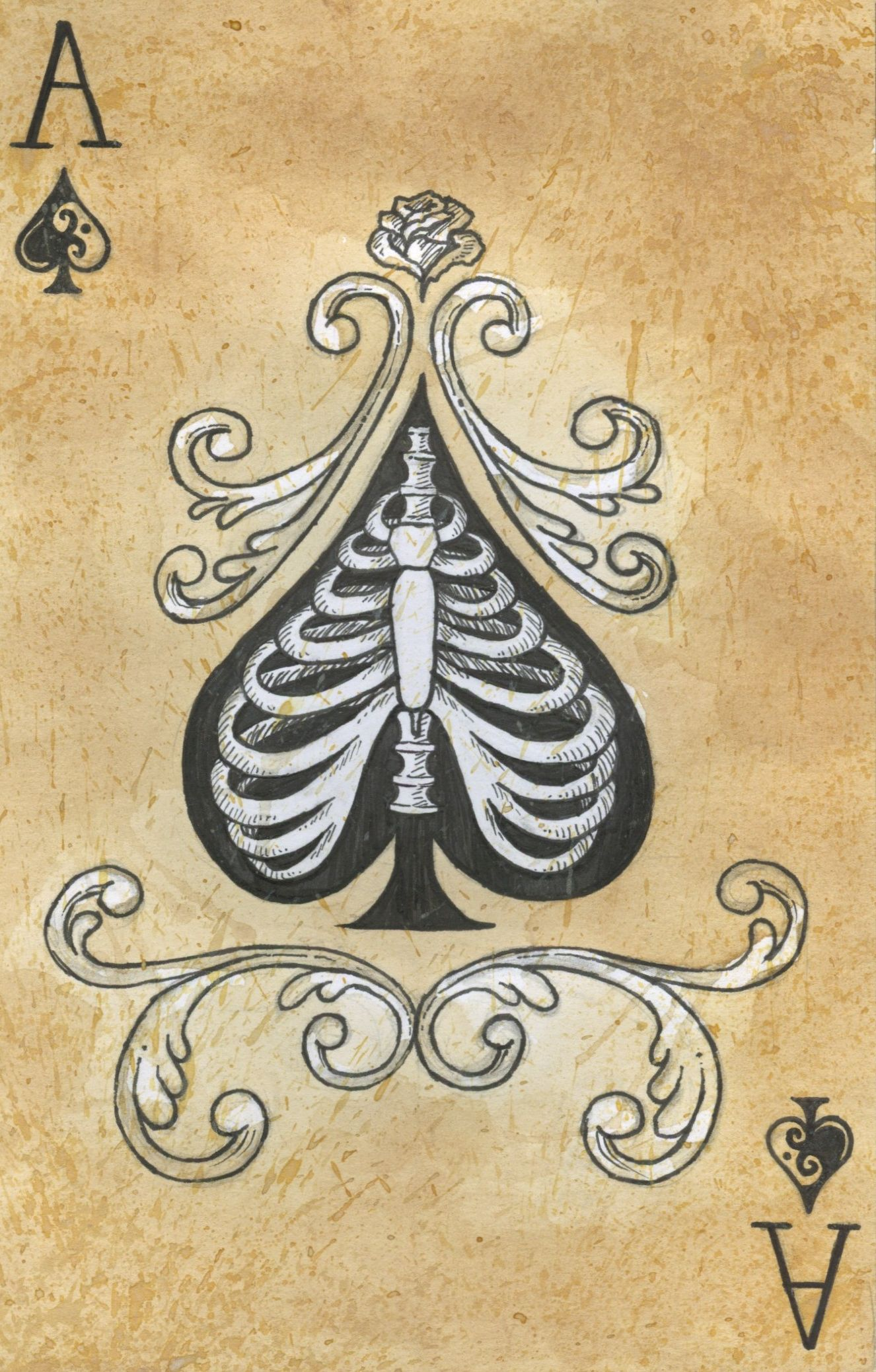 Pin by Kim Vincent on Ink | Card tattoo, Ace of spades