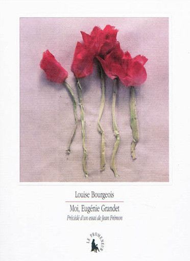 Moi Eugenie Grandet Book Stand Louise Bourgeois Graphic Book Nothing But Flowers