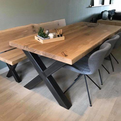 Table Lucien en chêne – Grandes tablées