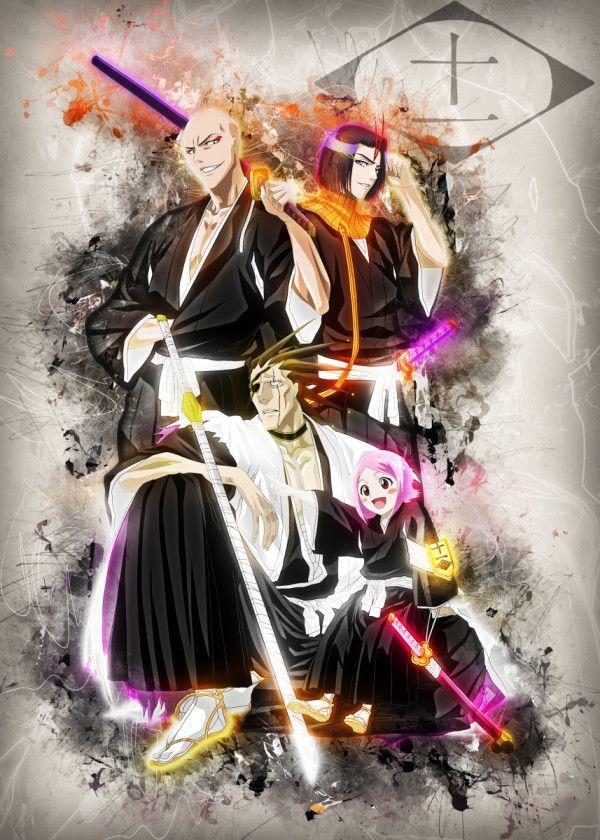 displate poster squad 11 anime manga