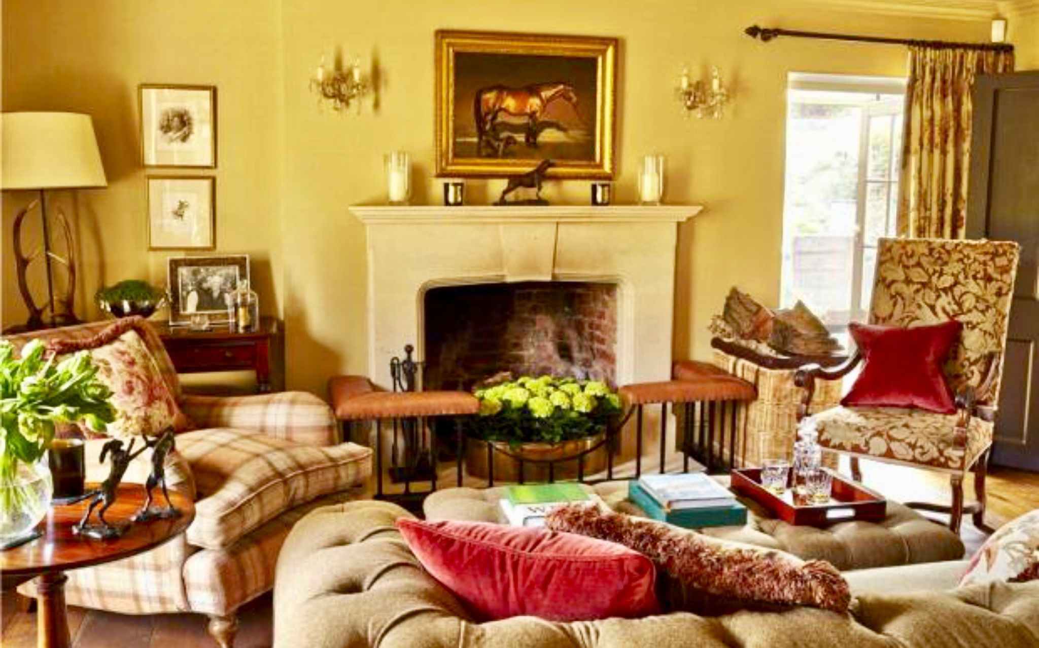 Living Room Southern England Country Living Room British Decor