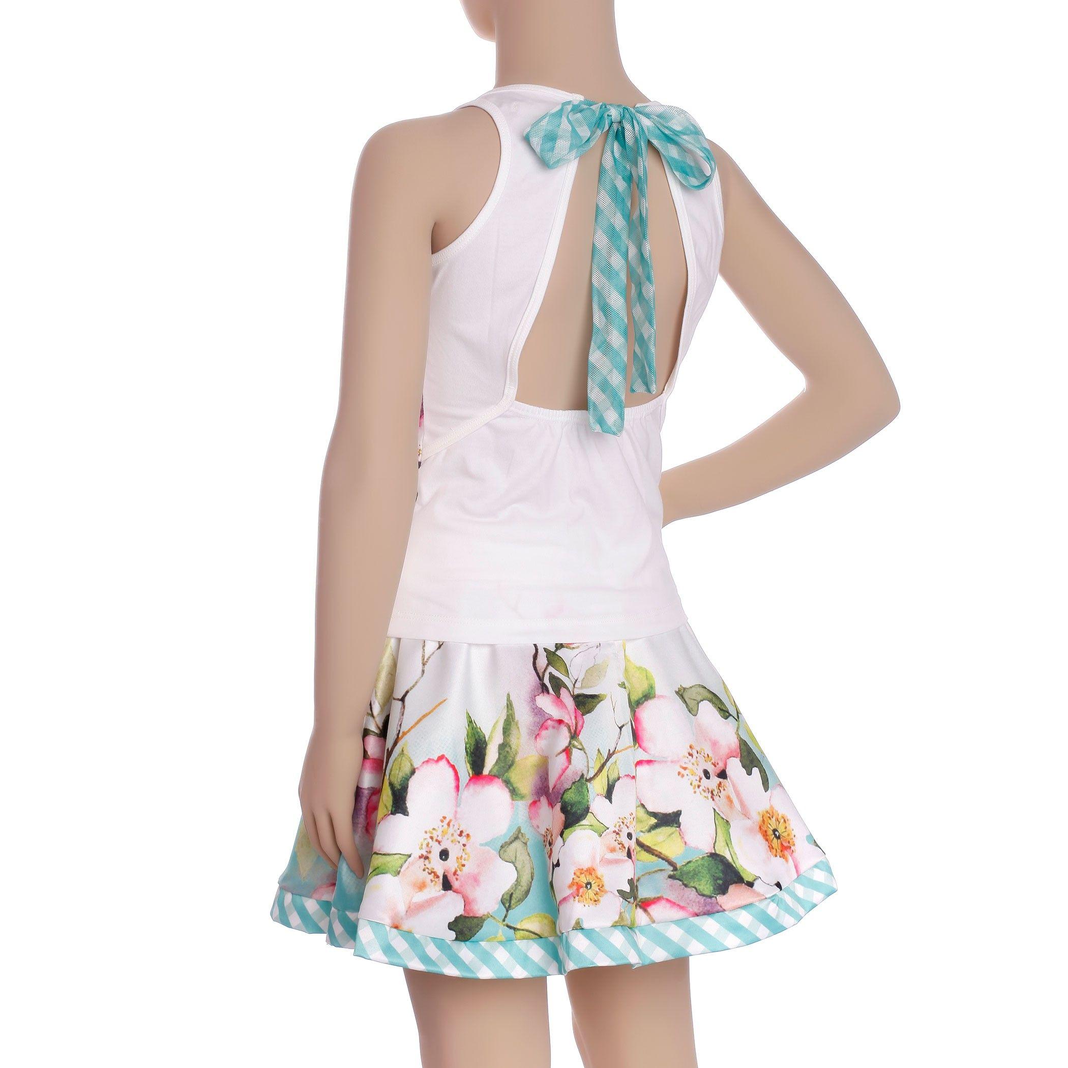 d31f73a3c Conjunto infantil Miss Cake com mix de estampas Digroup - Moda Infantil  Feminina Online