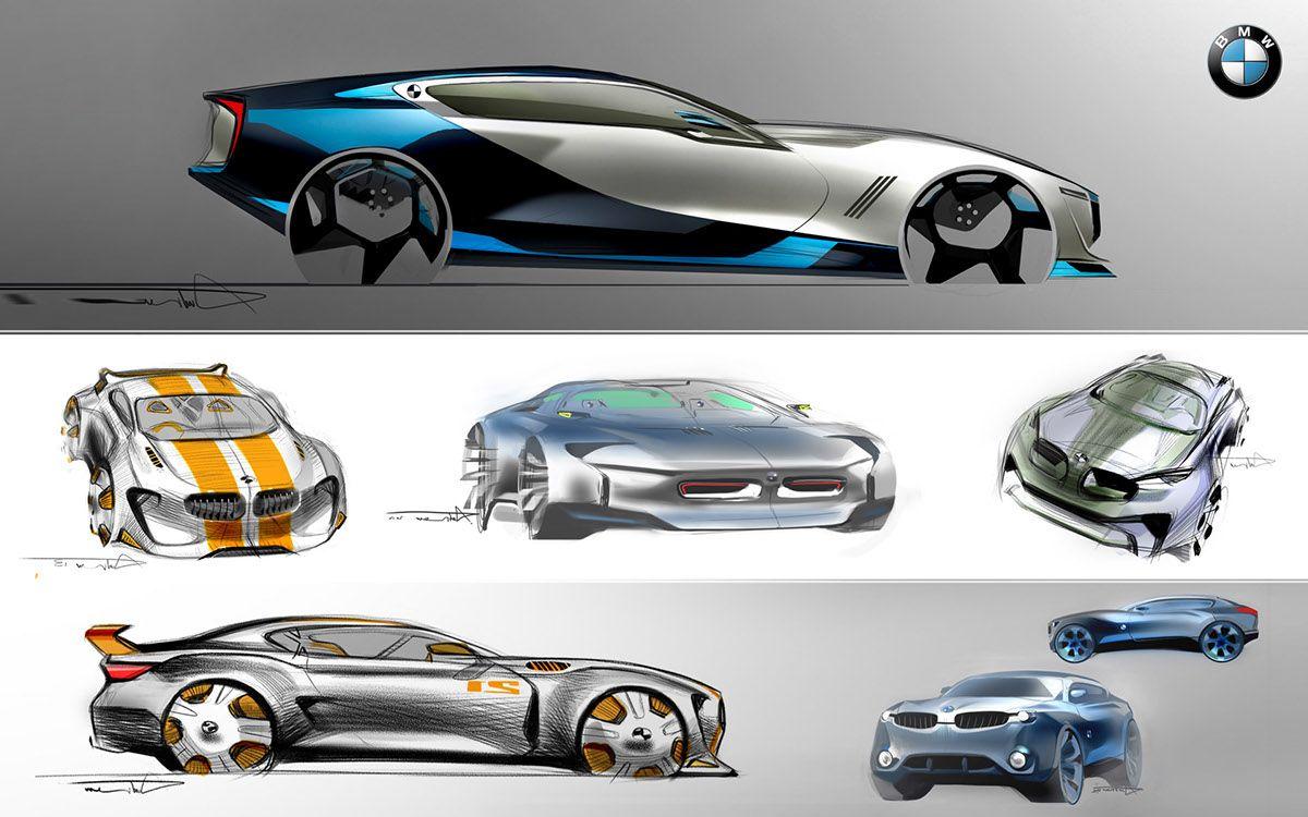 Car Design Sketches on Behance | Car design sketch, Concept car design