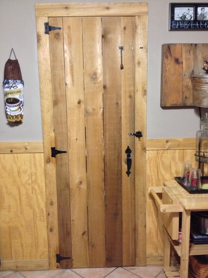Cedar Closet Doors That Hubby Made