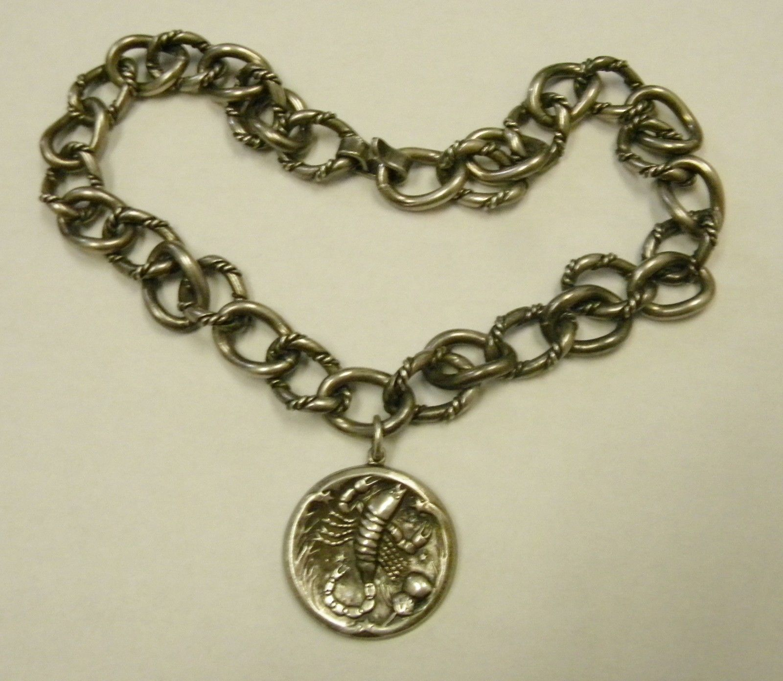 Scorpio necklace - pendant and chain by Georg Jensen USA Inc