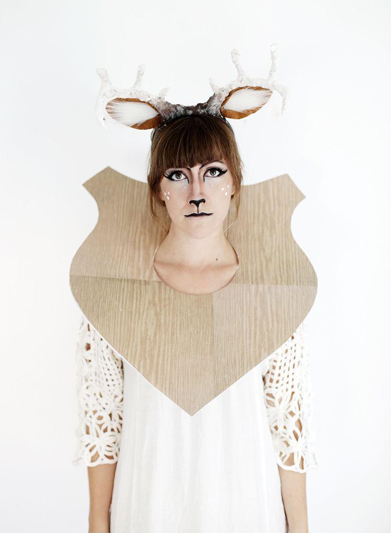 DIY Taxidermy Deer Costume | Deer costume, Taxidermy and Costumes