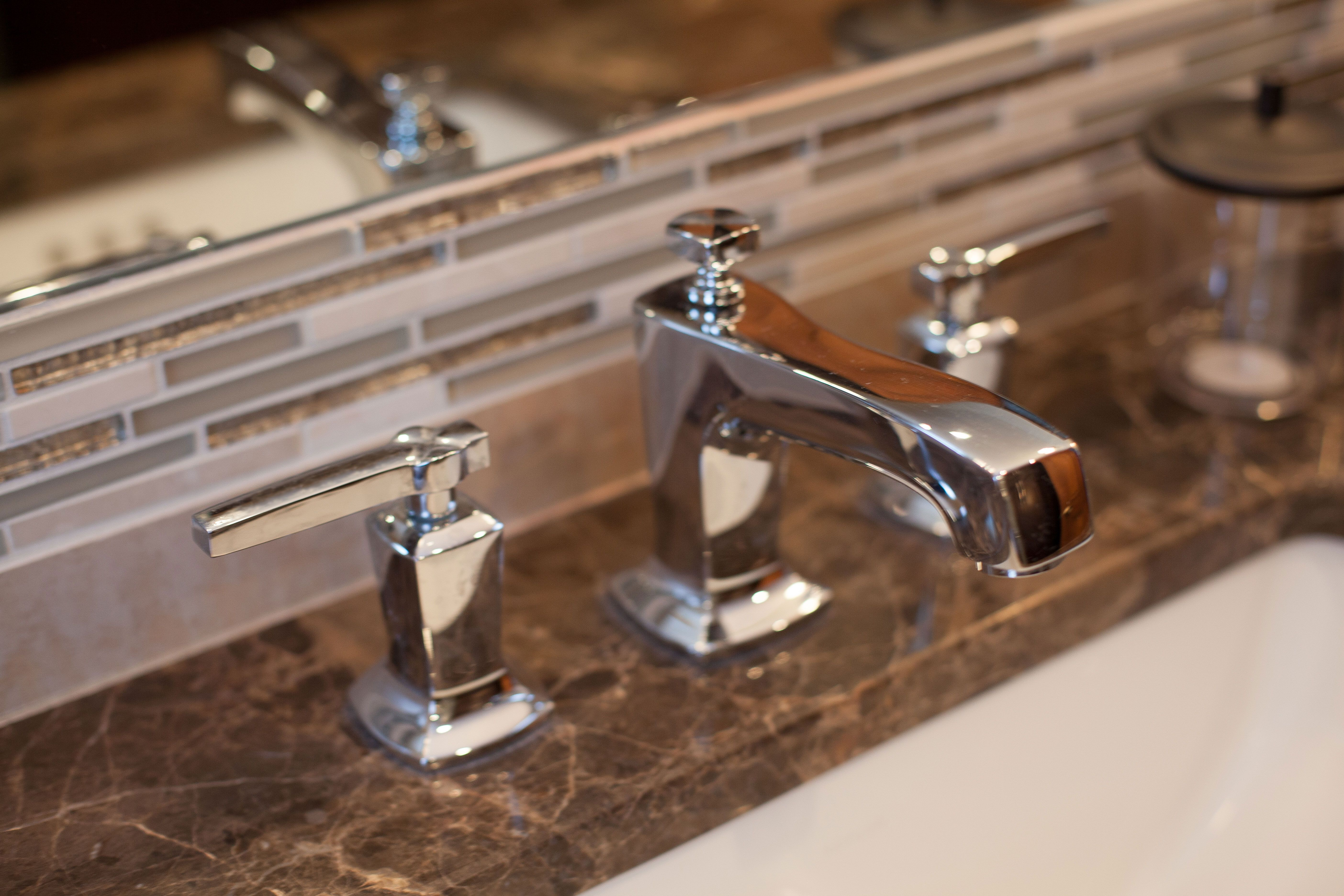 Master Bathroom: Kohler Margaux Faucet in Polished Chrome #Kohler ...