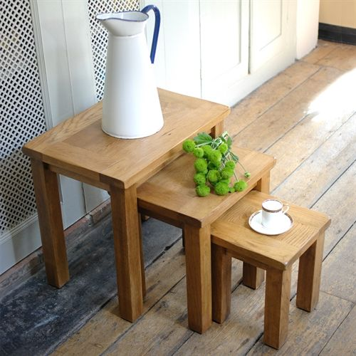 Oakland Nest Of 3 Tables E223 With Free Delivery The Cotswold