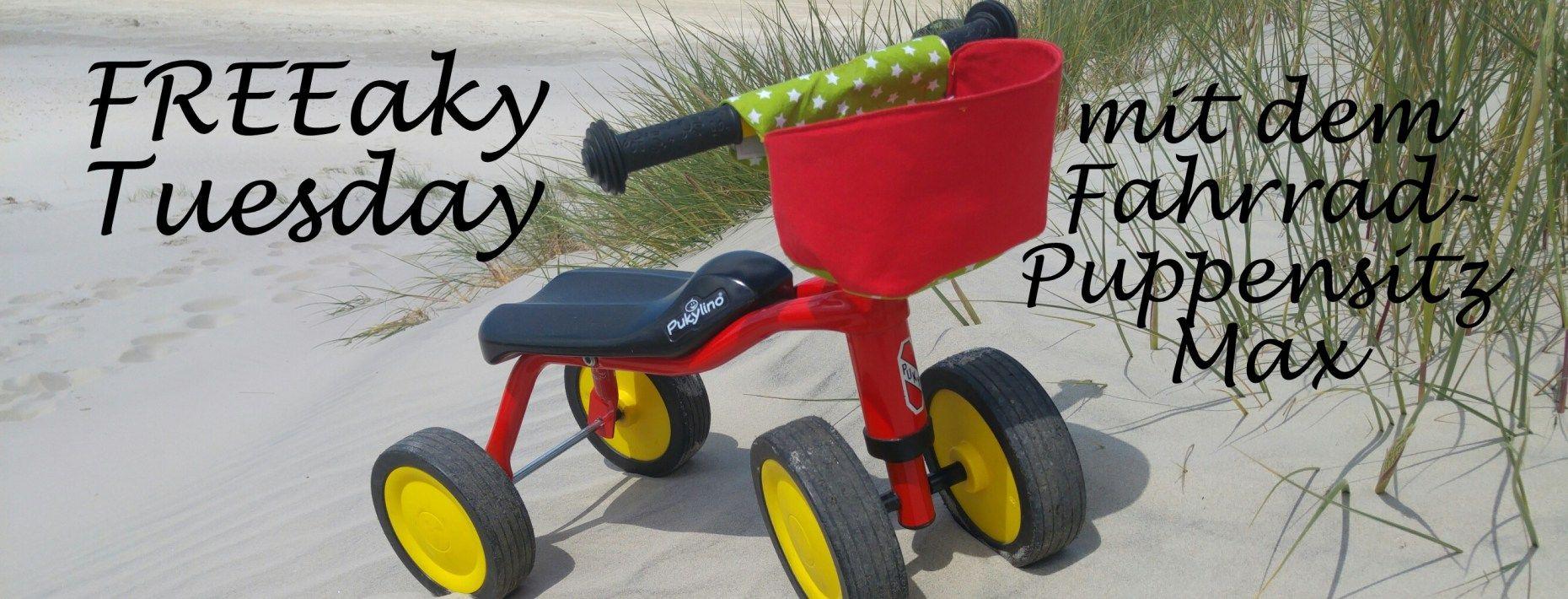Fahrrad-Puppensitz Max