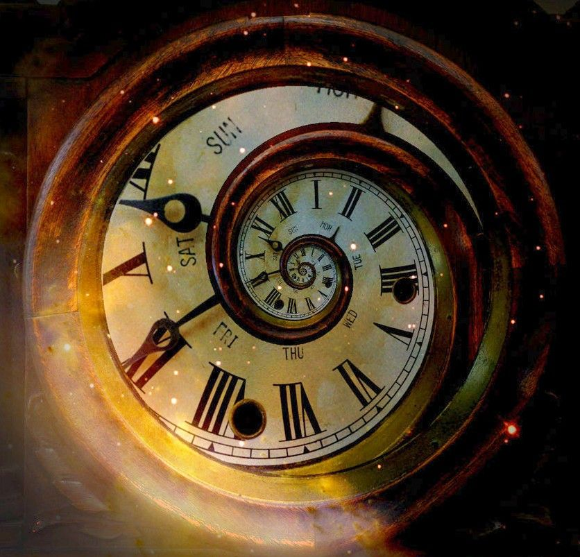 horloge dessin horloge ancienne rings spirals spheres discs clock art time art. Black Bedroom Furniture Sets. Home Design Ideas